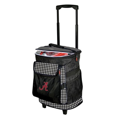 Logo™ University of Alabama Houndstooth 48-Can Rolling Cooler - view number 1
