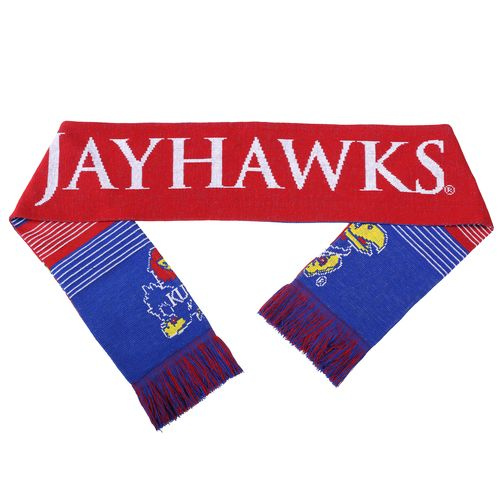 Forever Collectibles™ Adults' Kansas State University Reversible Split Logo Scarf