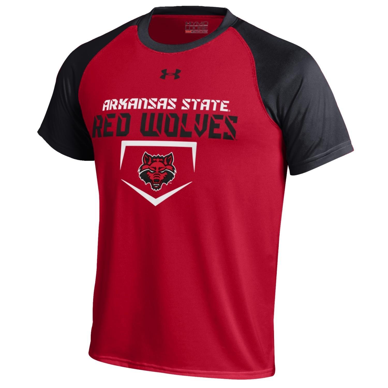 Under Armour® Boys' Arkansas State University Tech Baseball T-shirt