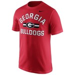 Nike Men's University of Georgia Short Sleeve Cotton T-shirt