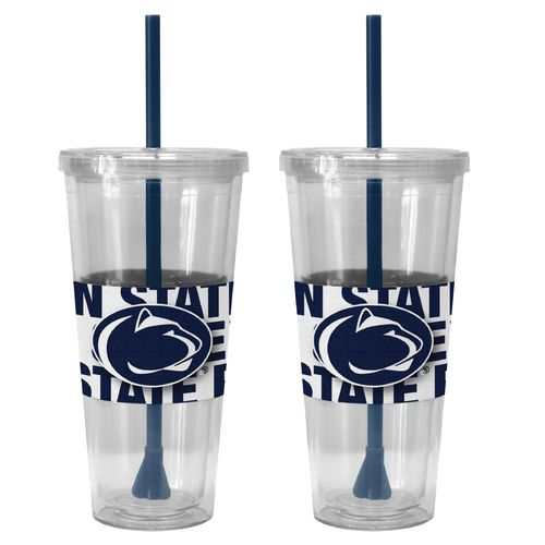 Boelter Brands Penn State Bold Neo Sleeve 22 oz. Straw Tumblers 2-Pack - view number 1