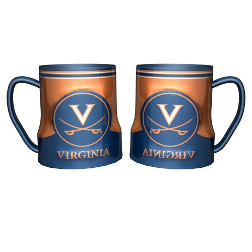 Boelter Brands University of Virginia Gametime 18 oz. Mugs 2-Pack