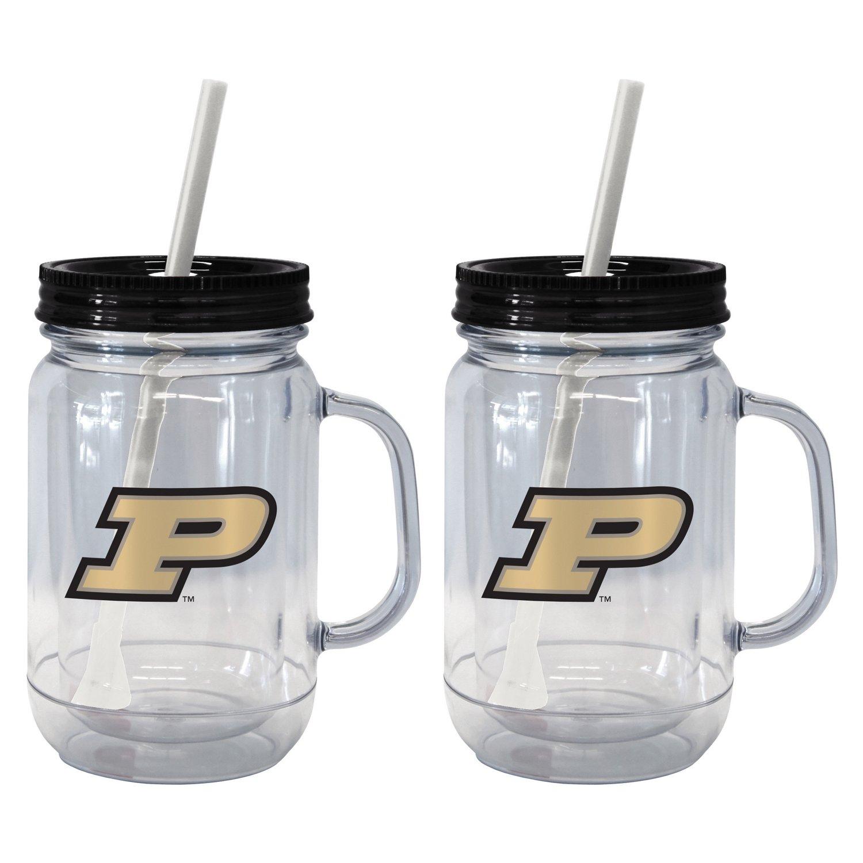 Boelter Brands Purdue University 20 oz. Handled Straw