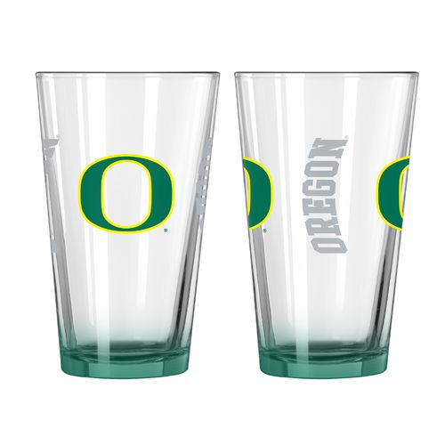 Boelter Brands University of Oregon Elite 16 oz. Pint Glasses 2-Pack
