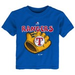 Majestic Infant Boys' Texas Rangers Baseball Mitt Short Sleeve T-shirt