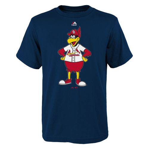 Majestic Boys' St. Louis Cardinals Mascot Short Sleeve T-shirt