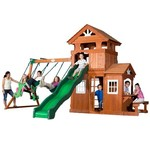 Backyard Discovery™ Shenandoah Wooden Swing Set - view number 2