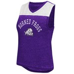 Colosseum Athletics Women's Texas Christian University Kiss Cam Tank Top