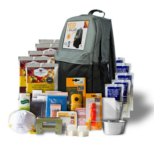 Wise Company Solar Powered 5-Day Emergency Survival Kit