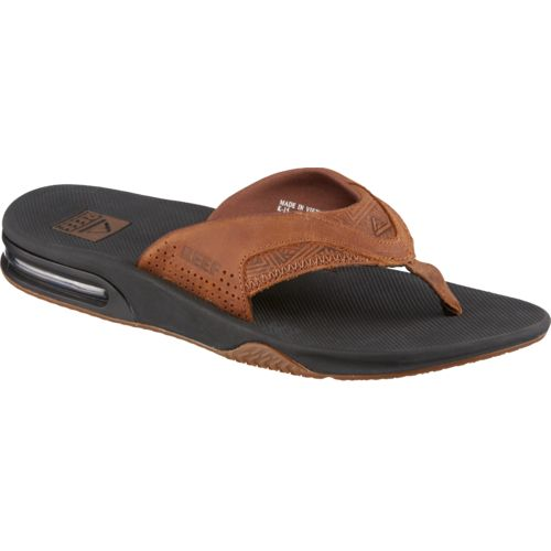 Reef Men's Leather Fanning Sandals - view number 2