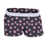Soffe Girls' Texas Christian University Printed Authentic Low Rise Short