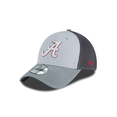 New Era Men's University of Alabama Grayed Out Neo 39THIRTY Cap