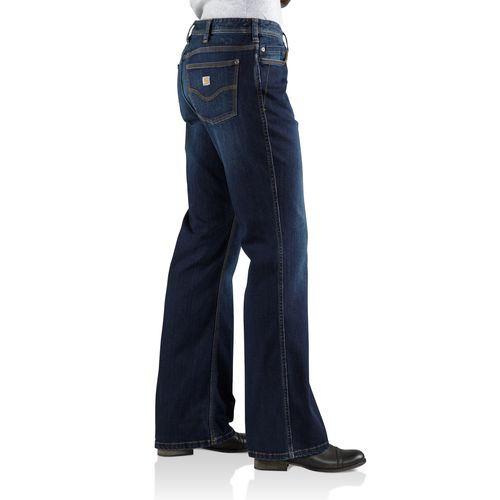 Carhartt Women's Jasper Relaxed Fit Denim Jean - view number 3