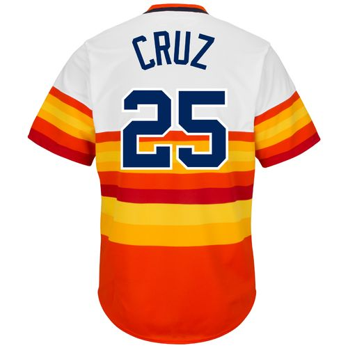 Majestic Men's Houston Astros José Cruz #25 Cooperstown Replica Jersey - view number 1