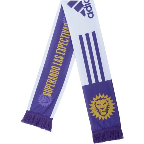 adidas™ Men's Orlando City SC Jersey Hook Sublimated Scarf