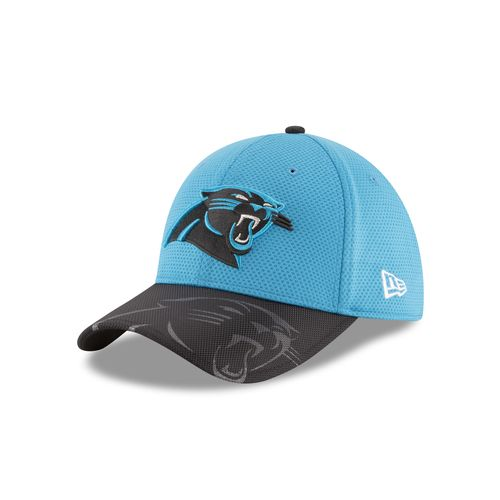 New Era Men's Carolina Panthers 39THIRTY Onfield Sideline Cap