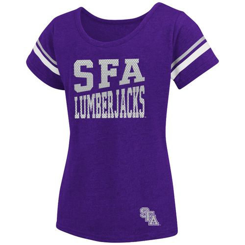 Colosseum Athletics™ Girls' Stephen F. Austin State University Fading Dot T-shirt