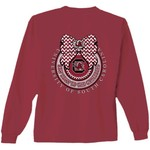 New World Graphics Women's University of South Carolina Ribbon Bow Long Sleeve T-shirt