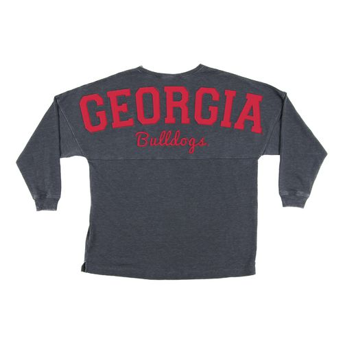 Chicka-d Women's University of Georgia French Terry Varsity Jersey