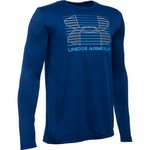 Under Armour™ Boys' Breakthrough Logo Long Sleeve T-shirt