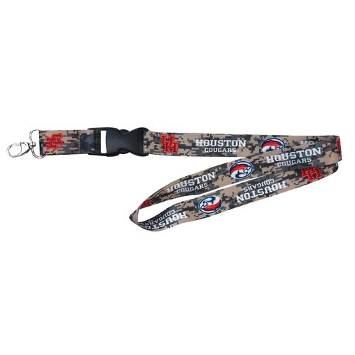 NCAA University of Houston Digicam Lanyard