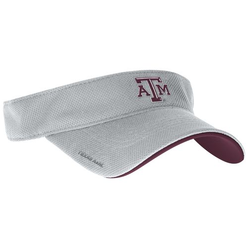 adidas™ Men's Texas A&M University Spring Game Sideline Adjustable Visor