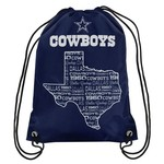 Team Beans Dallas Cowboys Drawstring Backpack