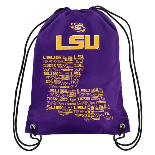 Forever Collectibles™ Louisiana State University Drawstring Backpack
