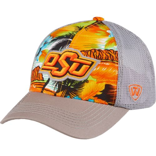 Top of the World Men's Oklahoma State University Ocean Front Adjustable Cap