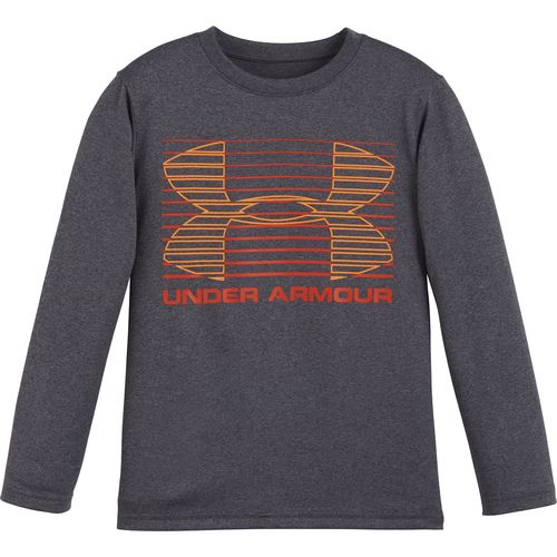 Under Armour® Toddler Boys' Elevate Logo Long Sleeve T-shirt