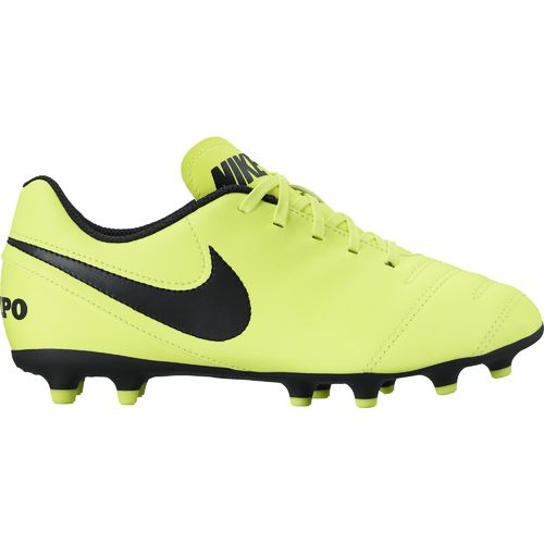 Display product reviews for Nike Boys' Jr. Tiempo Rio III FG Soccer Cleats