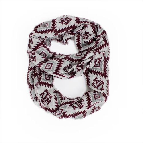 ZooZatz Women's Texas A&M University Southwest Infinity Scarf