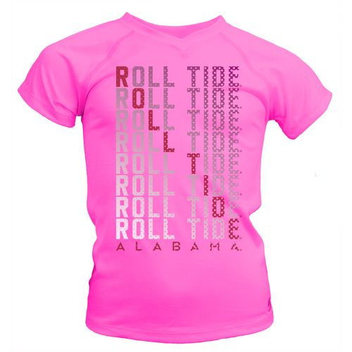 Soffe Girls' University of Alabama Performance T-shirt