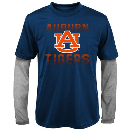 Gen2 Kids' Auburn University Bleachers Double Layer Long Sleeve T-shirt
