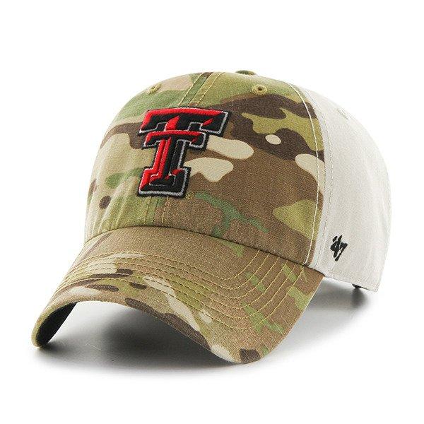 '47 Texas Tech University Sumner Camo Cap