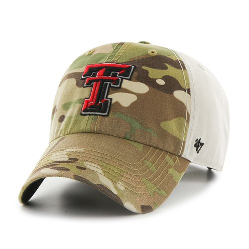 '47 Texas Tech University Sumner Camo Cap