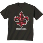 New World Graphics Men's University of Louisiana at Lafayette Alt Graphic T-shirt