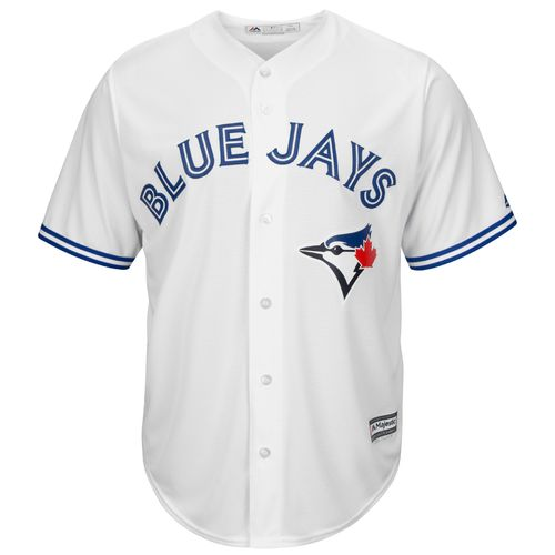 Majestic Men's Toronto Blue Jays Michael Saunders #21 Cool Base Replica Jersey - view number 3