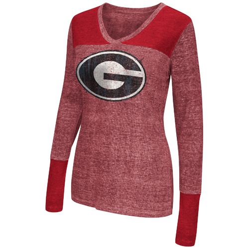 Touch by Alyssa Milano Women's University of Georgia Goal Line Top