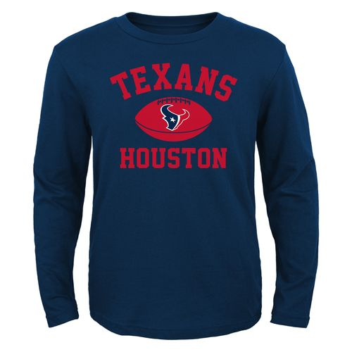 NFL Boys' Houston Texans Long Sleeve T-shirt