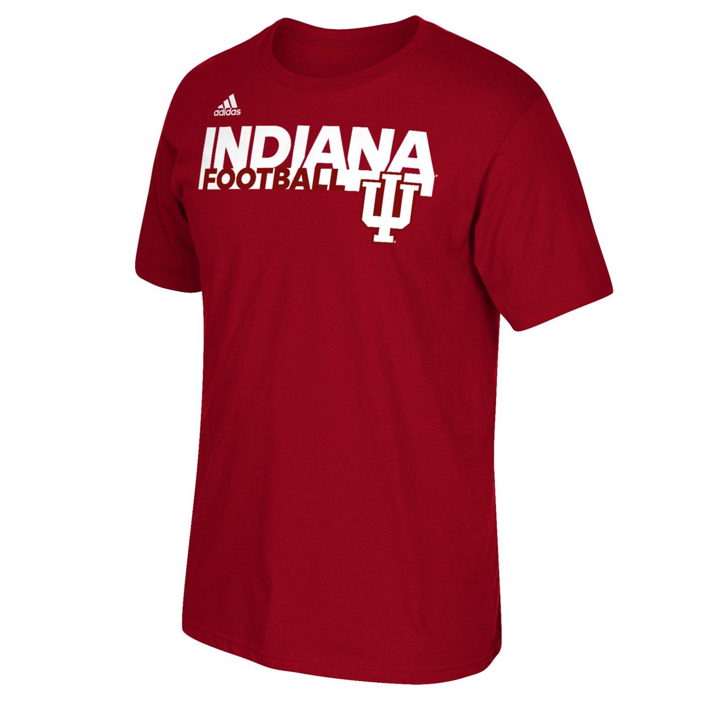 adidas™ Men's Indiana University Sideline Grind Football