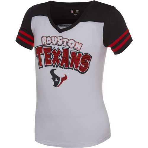 5th & Ocean Clothing Girls' Houston Texans Fan T-shirt - view number 1