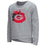 Colosseum Athletics™ Girls' University of Georgia Alaia Long Sleeve Pullover
