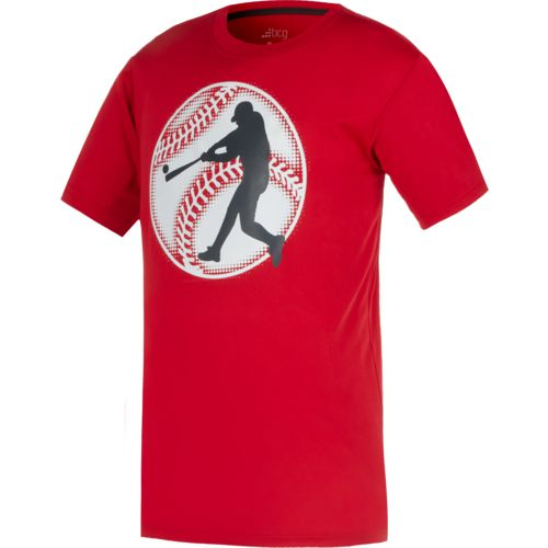 BCG Boys' Glow in the Dark Baseball Short Sleeve T-shirt