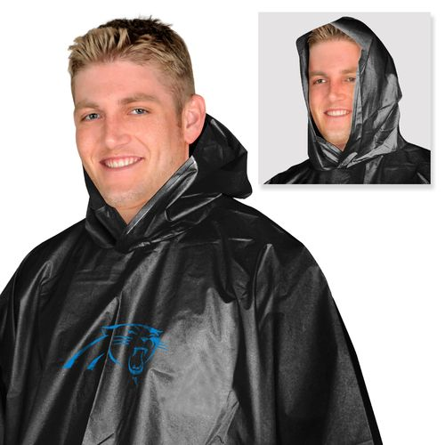 Mad Dasher Men's Carolina Panthers Rain Poncho