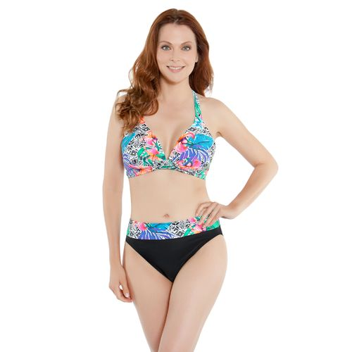 Sweet Escape Women's Amazon Bloom Molded Bra Swim Top