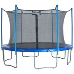 Upper Bounce® SKYTRIC 16' Round Trampoline with Enclosure - view number 1