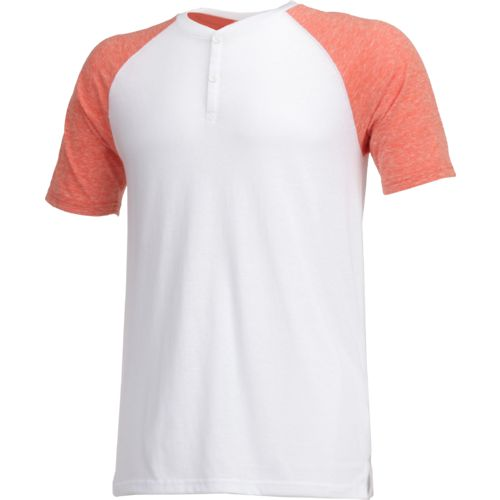 Display product reviews for BCG Men's Short Sleeve Lifestyle Henley