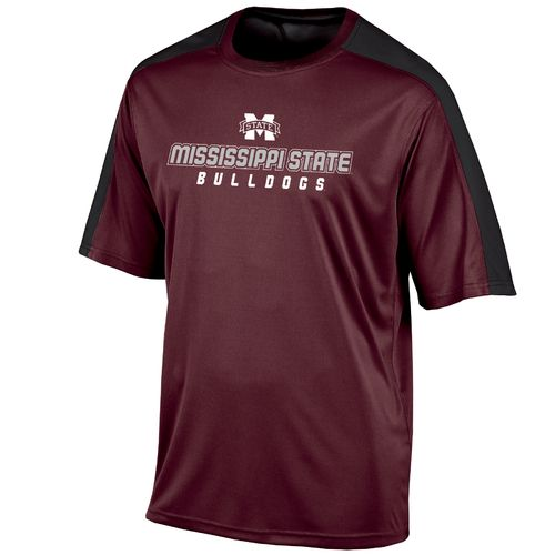 Champion™ Men's Mississippi State University Colorblock T-shirt