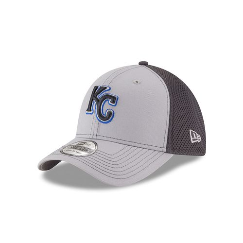 New Era Men's Kansas City Royals Grayed Out Neo 39THIRTY Cap - view number 1